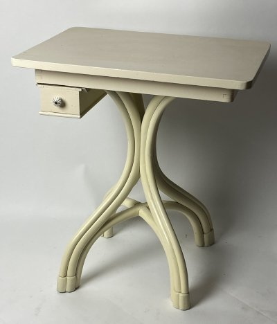 White Thonet side table, 1920s