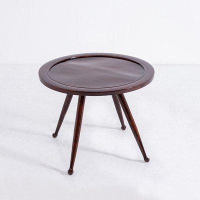 Osvaldo Borsani Coffee Table in walnut, 1950s