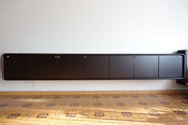 Minimalistic floating sideboard by Frank De Clercq, Belgium 1970s