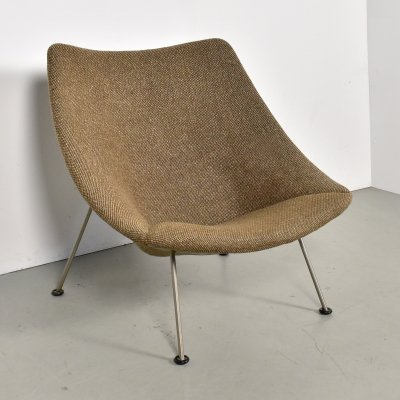 Oyster F157 lounge chair by Pierre Paulin for Artifort, 1960s