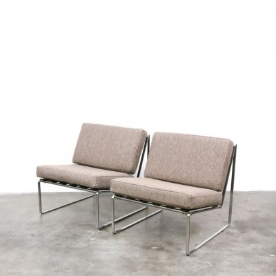 2 x Serie 024 lounge chair by Kho Liang Ie for Artifort, 1960s