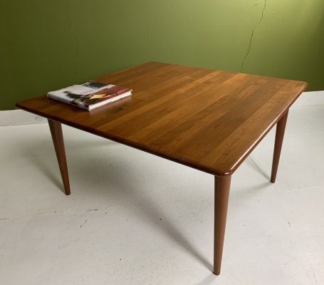 Danish coffee table in teak, 60's