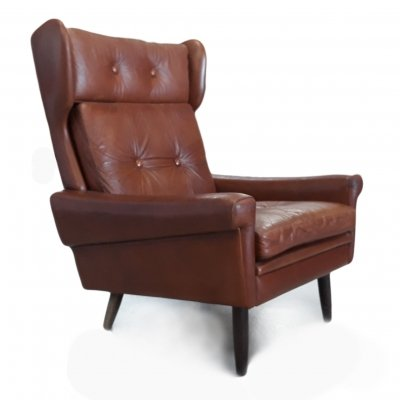 Wingback Lounge Chair by Svend Skipper, 1960s
