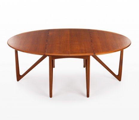 Dining table by Kurt Østervig for Jason Möbler, 1950s