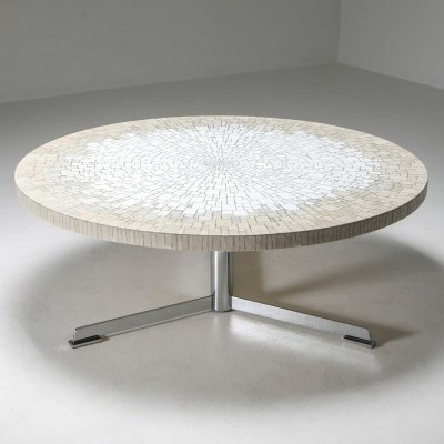 Ceramic mosaic coffee table by Heinz Lilienthal, 1970's