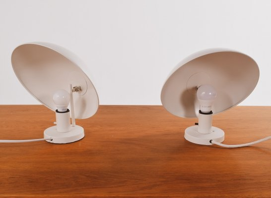 Pair of PH Hat Wall Lamps by Poul Henningsen for Louis Poulsen, 1961