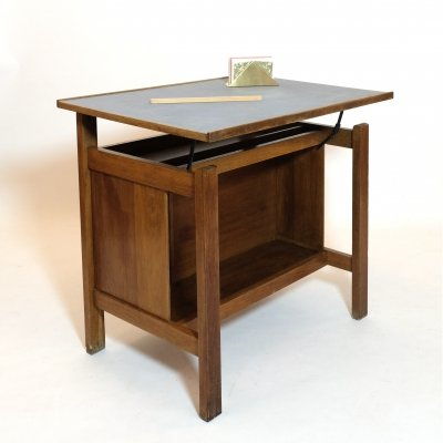Marcel Gascoin 2 positions child's desk by ARHEC, 1950s