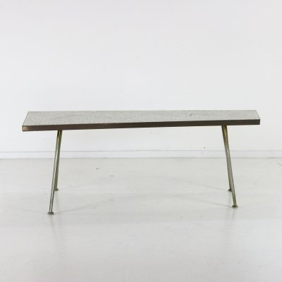 Mosaic coffee table by Berthold Müller, 1960s