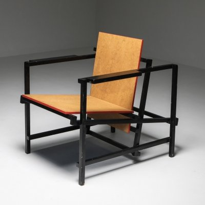 Dutch modernist armchair, 1970s