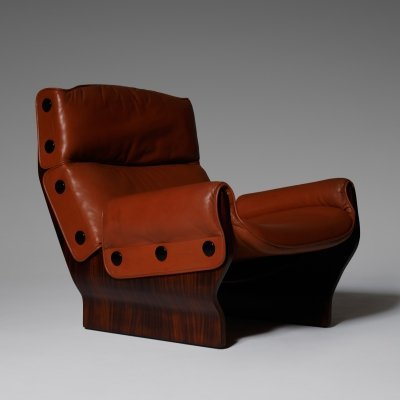 P110 'Canada' lounge chair by Osvaldo Borsani for Tecno