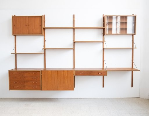 Wall unit by PS System, 1960s