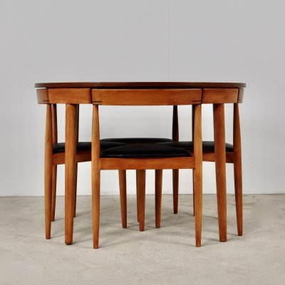 Dining set by Hans Olsen for Frem Røjle, 1960s