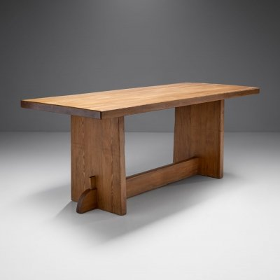 Axel Einar Hjorth 'Lovö' Pine Table for Nordiska Kompaniet, Sweden 1930s