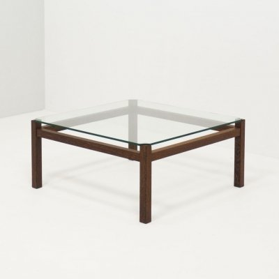 Spectrum 'TZ41' wengé coffee table by Kho Liang Ie