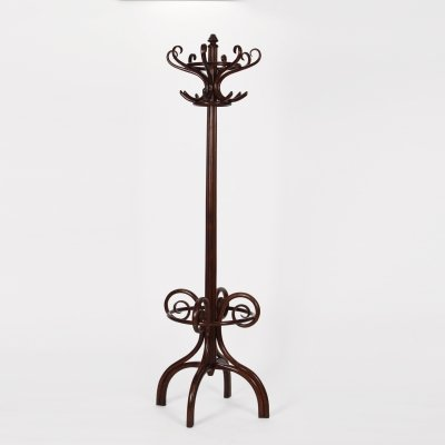 Art Nouveau Coat Rack Stand by Gebrüder Thonet, 1920s