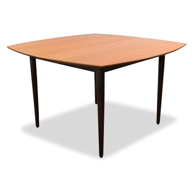 Vintage Danish design Mogens Kold teak extendable dining table