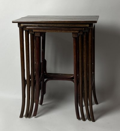 Thonet No. 1 nesting tables, 1930s