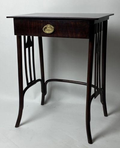 Thonet side table by Gustav Siegel, 1920s