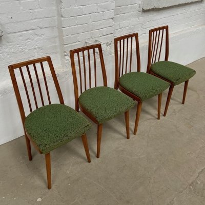 Set of 4 arm chairs by TON, 1960s