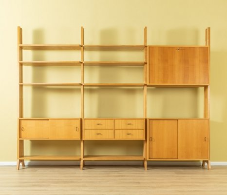 1950s wall unit by WK Möbel