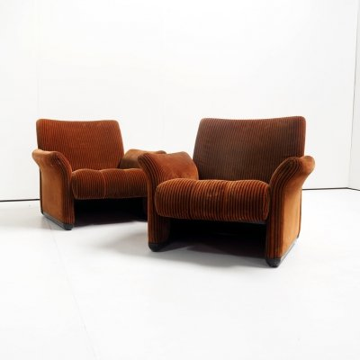 Rare set of 'Galedonia chairs by Vico Magistretti for C&B Italia, 1968
