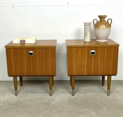 Retro bedside table set by MDK Belgium, 1960s