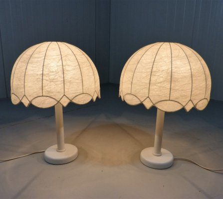 Set of 2 table lamps, 1960's