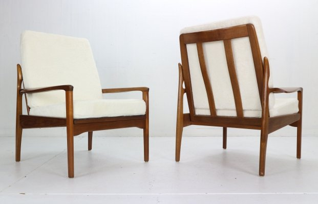 Fler Narvik set of 2 Armchairs by Fred Lowen, 1960s