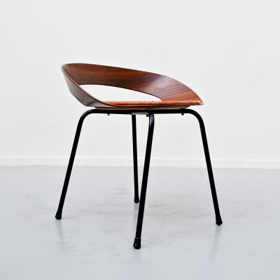 PA1 Chair by Luciano Nustrini for Poltronova, 1957