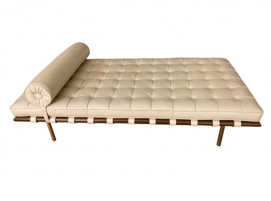 Barcelona daybed by Ludwig Mies van der Rohe for Knoll, 1970s
