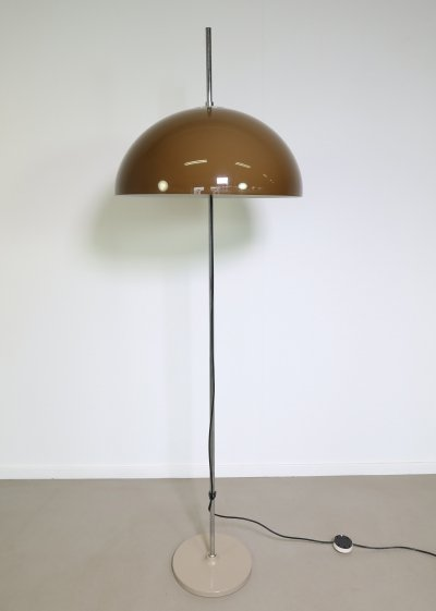 Hagoort Floor lamp with height adjustable shade, 1970s