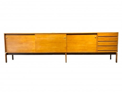 XXL 'Abstracta' Sideboard by Jos De Mey for Van Den Berghe-Pauvers, 1960s