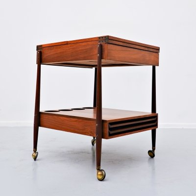 Italian Trolley in Teak, 1960s
