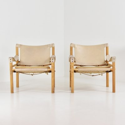 Scirocco easy chairs by Arne Norell for Arne Norell AB, Sweden 1964