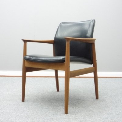 Danish Desk Chair by Grete Jalk for Glostrup, 1960s