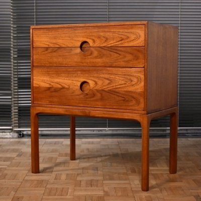 Kai Kristiansen Model 386 Teak Chest of Drawers for Aksel Kjersgaard