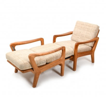 Pair of Easychairs / Daybed by Jens-Juul Christensen for JK Denmark