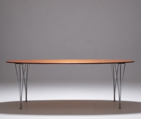 Bruno Mathsson & Piet Hein elliptical table, 1970s