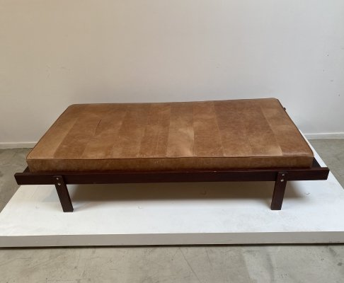 Leather daybed, 1970s