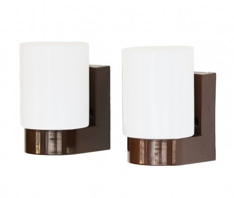 Pair of wall lights/sconces for bathroom, Finland 1960s