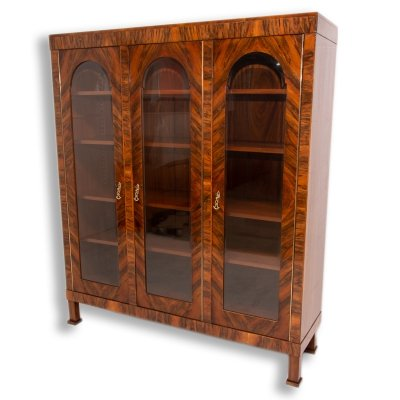 Art Deco Library cabinet, 1930s