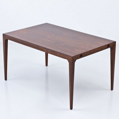 Rectangular dining table/ desk by Poul Hundevad, Denmark 1950s