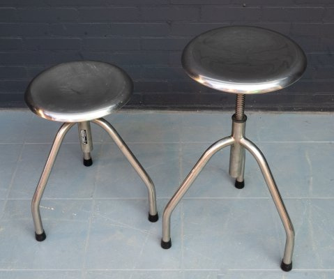 Vintage medical stool by Manubelge S.A., Belgium 1950s