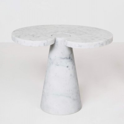 Angelo Mangiarotti Marble 'Eros' Side Table by Skipper, Italy 1970s
