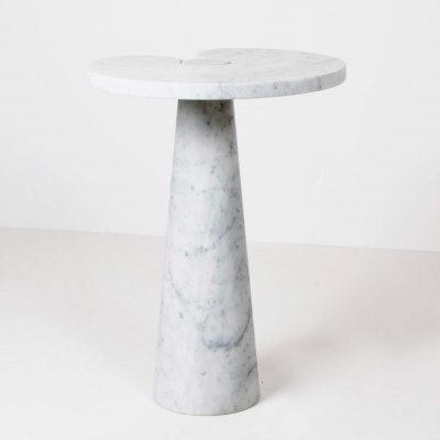 Angelo Mangiarotti Marble 'Eros' Side Table for Skipper, Italy 1970s