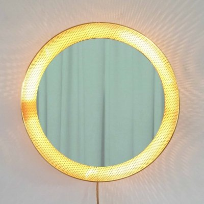 Mirror with back light designed by Floris Feideldij for Artimeta, 1950s