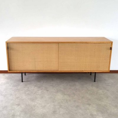 Florence Knoll Seagrass Sideboard model 116, 1950s