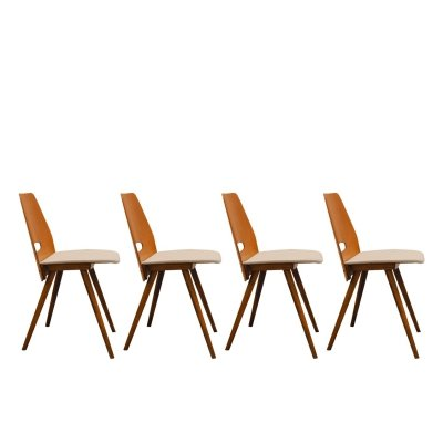 Set of 4 Dining chairs by František Jirák, 1960's