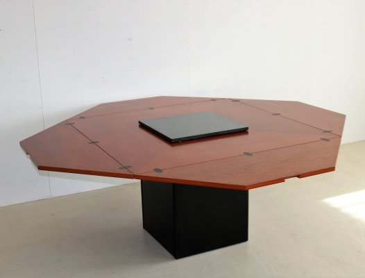 Cirkante dining table by Bob van den Berghe for Tranekaer Denmark, 1990s