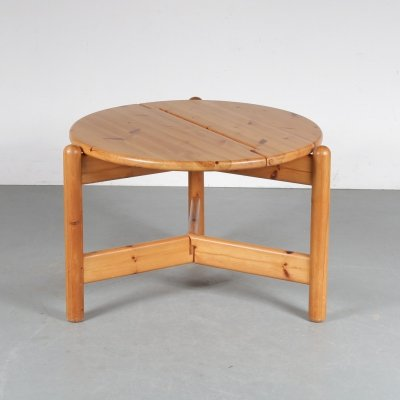Side table by Rainer Daumiller for Hirtshals Savværk, 1970s